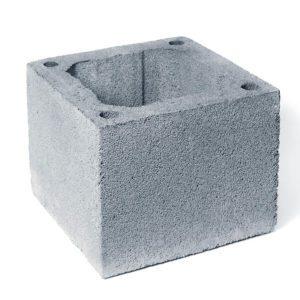 блоки из керамзитобетона для дымохода